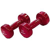 ダンベル「2個セット1kg/2kg/3k」ダンベルセット ソフトコーティングで [筋力トレーニング 筋トレ シェイプアップ 鉄アレイ 鉄アレー]