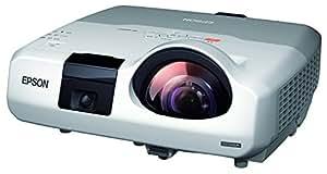 EPSON デスクトップ型超短焦点プロジェクター 3,000lm WXGA 4.1kg インタラウティブ機能搭載 EB-436WT