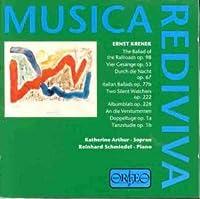 Krenek: Lieder (1999-09-27)