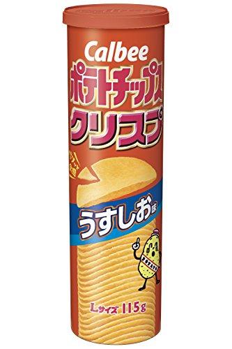 ポテトチップスクリスプ うすしお味 115g 12個