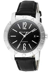 [ブルガリ]BVLGARI 腕時計 ブルガリブルガリ ブラック文字盤  アリゲーター革ベルト 自動巻 BB42BSLDAUTO メンズ 【並行輸入品】