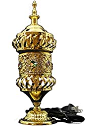 OMG-Deal Electric Bakhoor Burner Electric Incense Burner + Camphor- Oud Resin Frankincense Camphor Positive Energy...