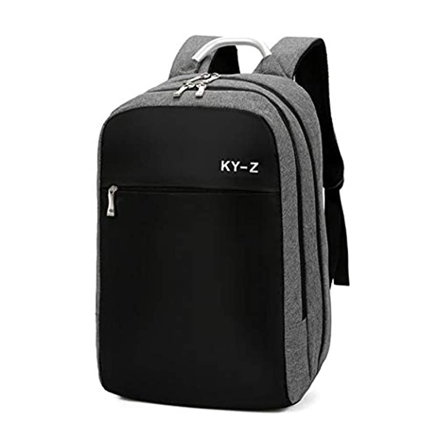 印象的なラウンジ強いますLCPTJ 女性と男性のノートパソコンのバックパック、ビジネスの盗難防止スリム耐久性のあるノートパソコンのバックパックUSB充電ポート、防水カレッジスクールのコンピュータバッグ