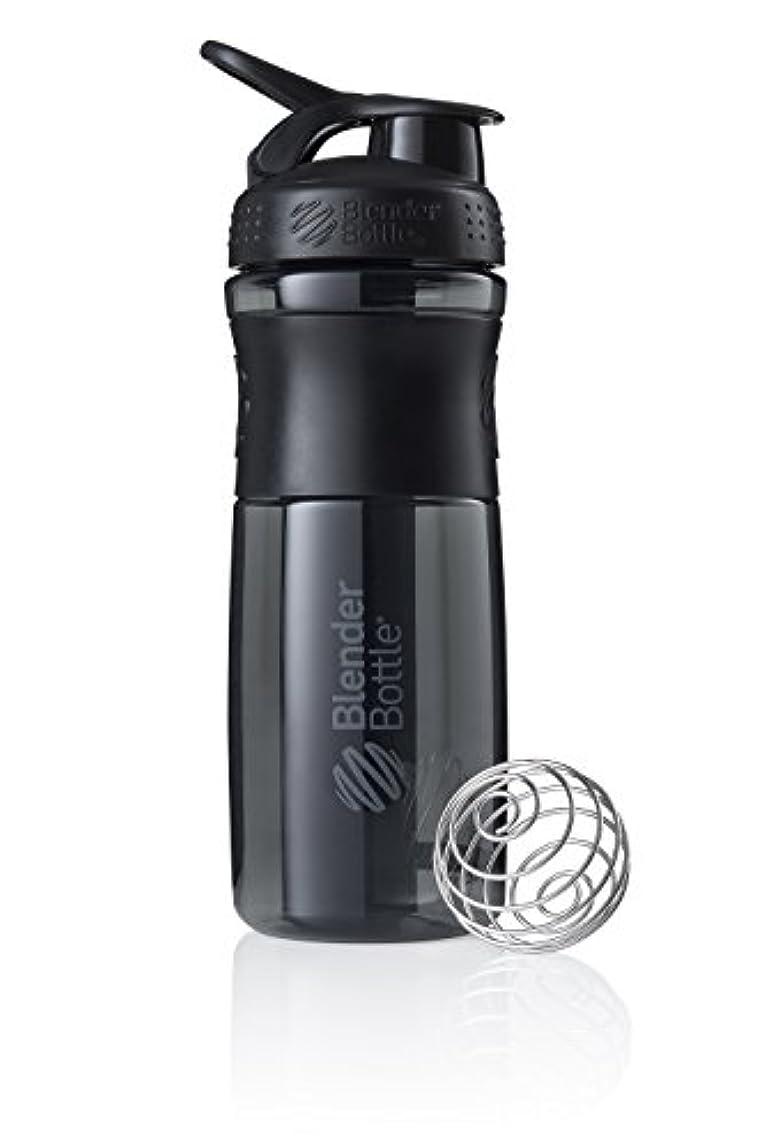 測る援助ドロップブレンダーボトル 【日本正規品】 ミキサー シェーカー ボトル Sports Mixer 28オンス (800ml) ブラック BBSME28 BKBK