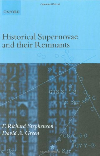 Download Historical Supernovae and Their Remnants (International Series on Astronomy and Astrophysics) 0198507666