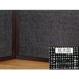 WMB-4620 遮光メッシュシート 46cm丈×200cm ブラック