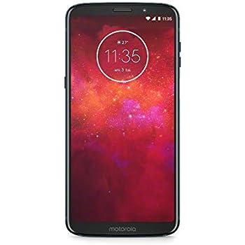 モトローラ SIM フリー スマートフォン Moto Z3 Play 4GB 64GB ディープインディゴ 国内正規代理店品 PABH0005JP/A