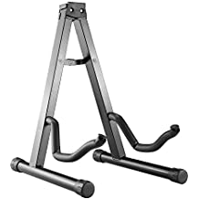 Neewer® Universal Portable Adjustable A-Frame Electric Guitar Floor Stand Holder Black Color