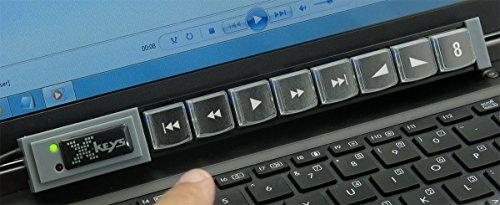 X-Keys XK-8 Stick USB Programmable Keypad for for KVM Control [並行輸入品]