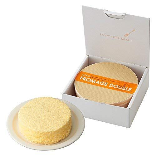 LeTAO(ルタオ) チーズケーキ ドゥーブルフロマージュ ギフト ボックス ホール 4号(2〜3人分) 化粧箱入り