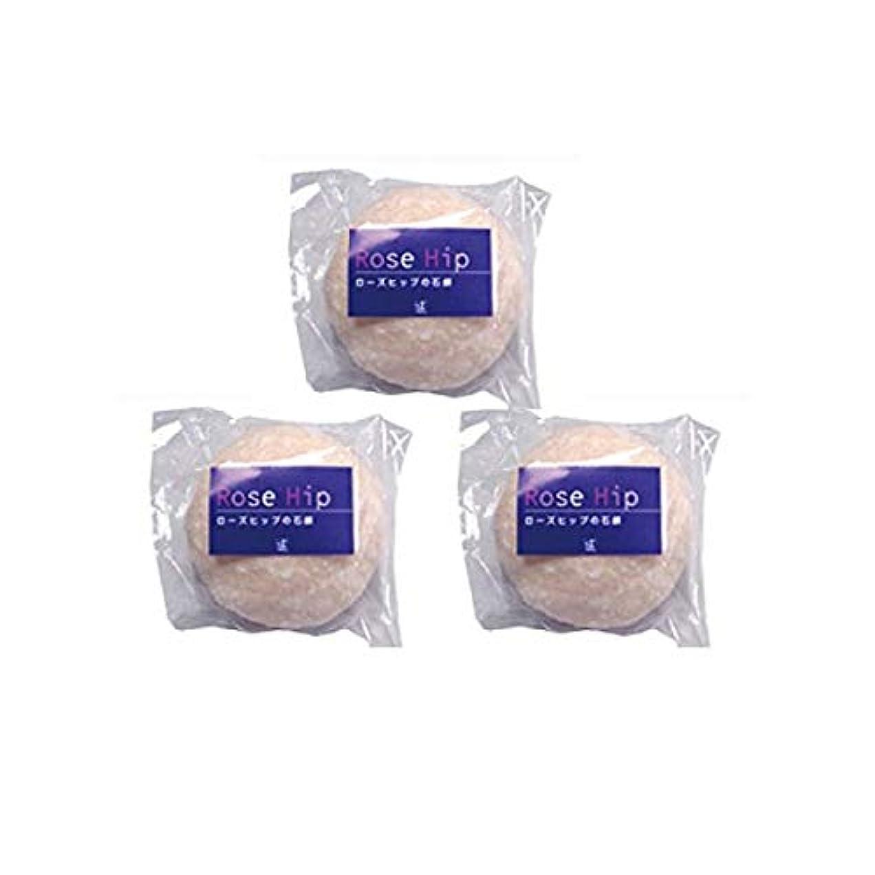 ティームタイピスト住む山澤清ローズヒップ石鹸3個セット(70g×3個)スパール山澤清のローズヒップ無添加洗顔石鹸
