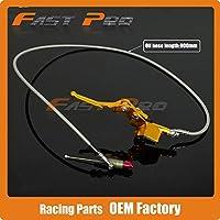900ミリメートル90センチ油圧クラッチレバーマスターシリンダー50-125cc垂直エンジンオフロードオートバイダートバイクatv