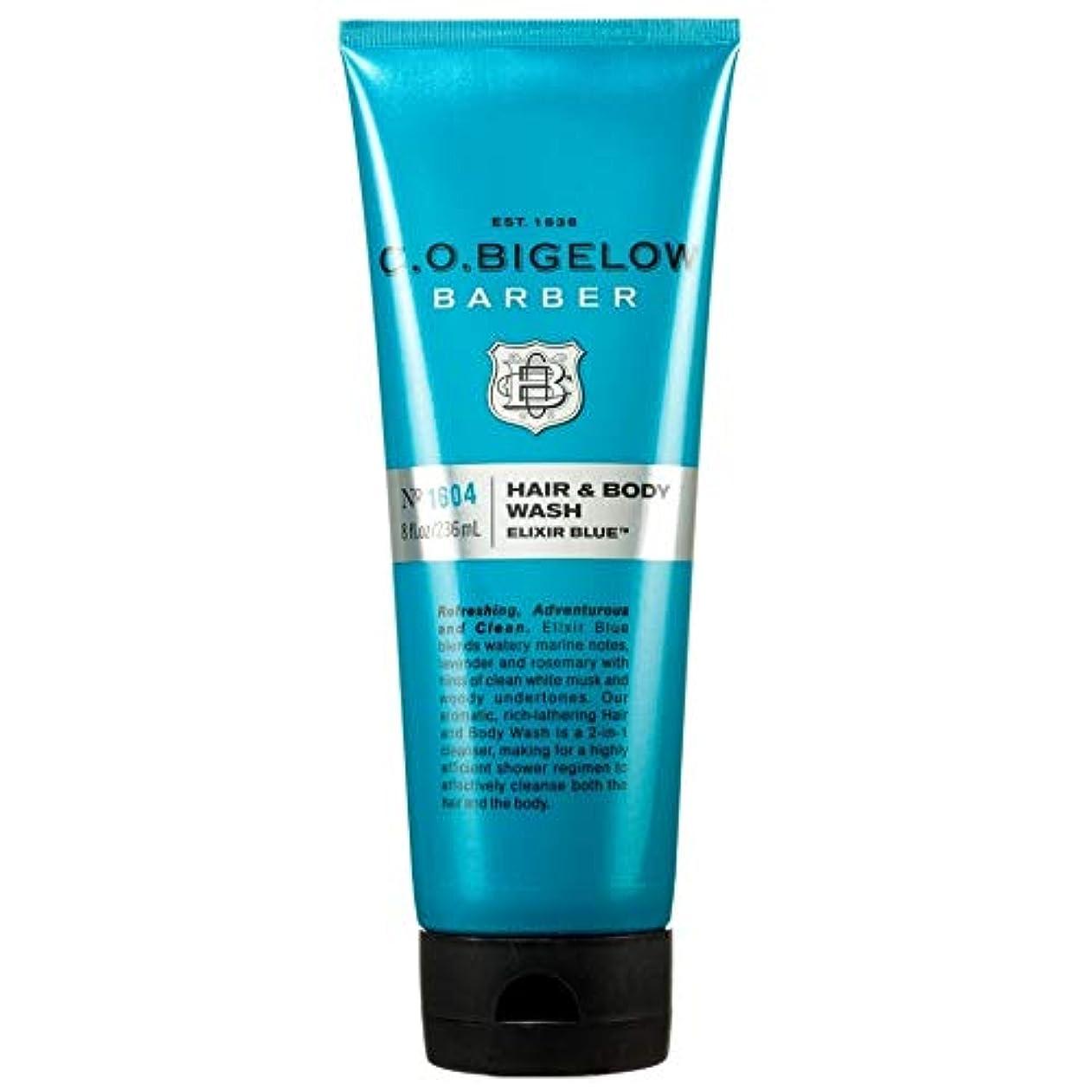 南アメリカアナロジー大きい[C.O. Bigelow] C.O.ビゲローエリキシル青い髪やボディウォッシュ - C.O. Bigelow Elixir Blue Hair and Body Wash [並行輸入品]