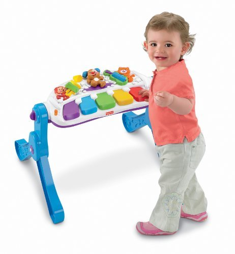 Fisher-Price フィッシャープライス Laugh & Learn Learn & Move Music Station [並行輸入品]