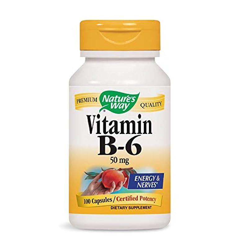 告白修道院バルコニーNature's Way - ビタミンB6 100 mg。100カプセル