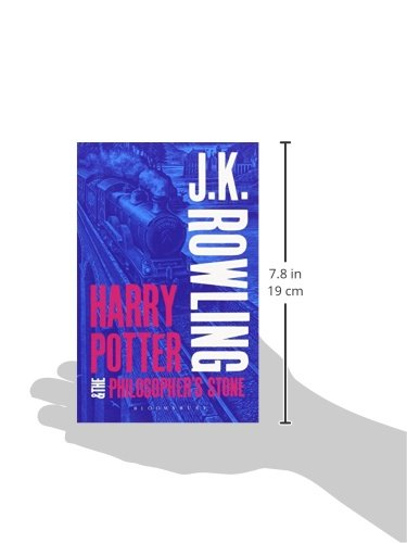 Harry Potter and the Philosopher's Stone (Harry Potter 1 Adult Cover)