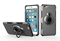Mrstar 電話 シェル の iPhone 6 iPhone 6s 4.7 inch シェル バックケース 携帯電話ケース バック 緩衝器 カバー [ Grey ]