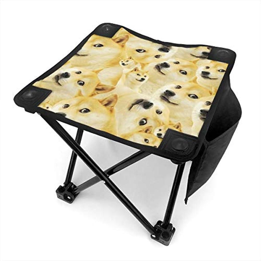 程度ベアリングサークル市民権秋田犬 キャンプ用折りたたみスツール アウトドアチェア 折りたたみ コンパクト椅子 折りたたみスツール 小型スツール 収納袋付き 持ち運びが簡単 耐荷重100kg