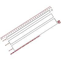 iFormosa 出品者用 強化版透明アクリル 定形外郵便 ゆうパケット 専用 スケール クロネコDM便 クリックポスト レターパックライト専用 1-3cm 厚さ測定定規 IF-SCL-2018