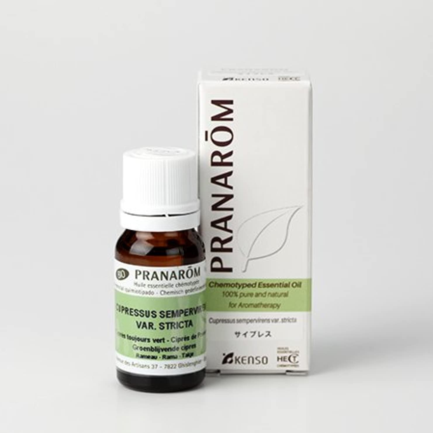 原因パスポートヘアプラナロム ( PRANAROM ) 精油 サイプレス 10ml p-55