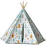 子供用テント写真子供用テントキッズプレイテント子供用おもちゃの家ゲームハウス室内プリンセスルーム男の子と女の子へのプレゼント キッズテント (Color : Tent+mat, Size : 120x180x137cm)
