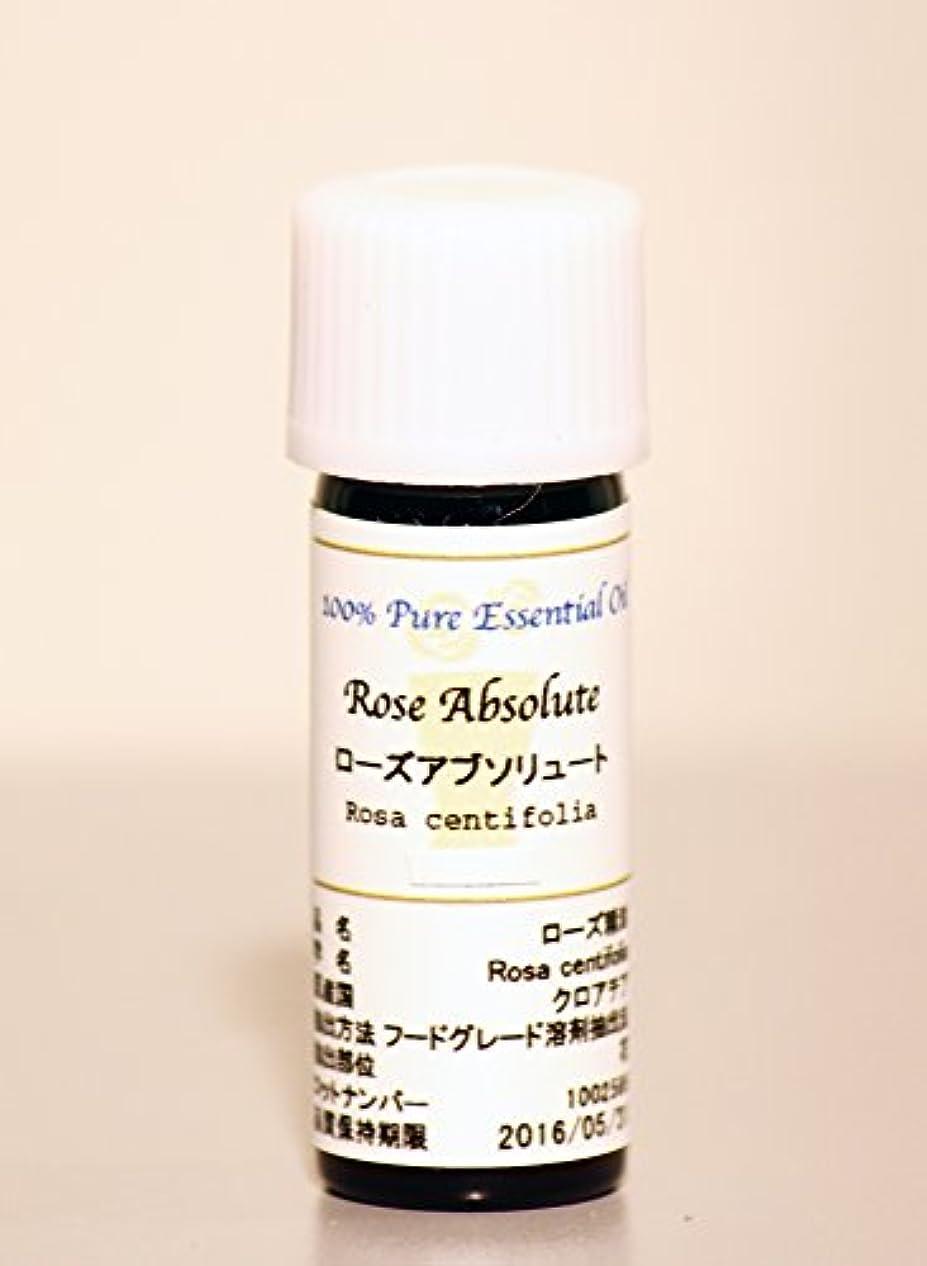 鋸歯状眠っている吸収するFLORAL NOTE エッセンシャルオイル ローズアブソリュート 2ml