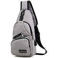 Hiking Daypacks,Outdoor Travel Bicycling Hiking Multipurpose Backpack,Triangle Packs Daypack,Chest Bag, School Bookbag for Men Women,USB Charge,Anti -Theft,Lightweight,Sling Shoulder Crossbod