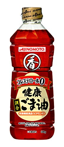 J-オイルミルズ AJINOMOTO健康調合ごま油 3本