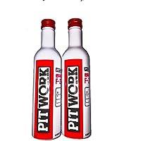 PITWORK(ピットワーク) 燃料系洗浄剤 F-ZERO(エフゼロ) 【2本セット】レッドキャップ【ワコーズ製日産向けOEM商品】(ガソリン、ディーゼル共用燃料添加剤) 300ml