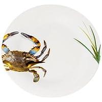 GalleywareブルーCrabサラダ/デザートプレート(Set of 4 )