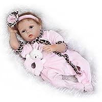 SanyDoll Rebornベビー人形ソフトSilicone 22インチ55 cm磁気Lovely Lifelike Cute Lovely Baby b0763lbcp3