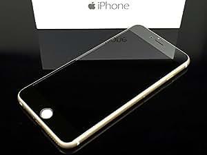 iPhone6/6 Plus完全対応 0.3mm強化ガラス スクリーン プロテクター 液晶保護フィルム (iPhone6 Plus 両面, ガンメタ ブラック)