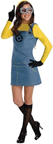 Despicable Me 2 Lady Minion Adult Costume 卑劣なミー2レディーミニオン大人用コスチューム♪ハロウィン♪サイズ:Small