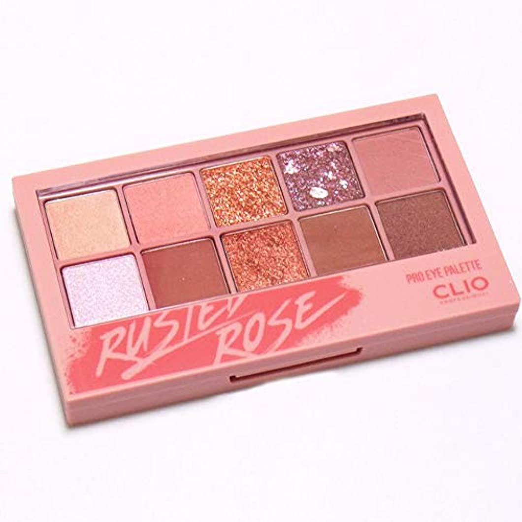 友情朝食を食べる航空クリオ プロアイパレット Clio Pro Eye Palette (#05 Rusted Rose) [並行輸入品]