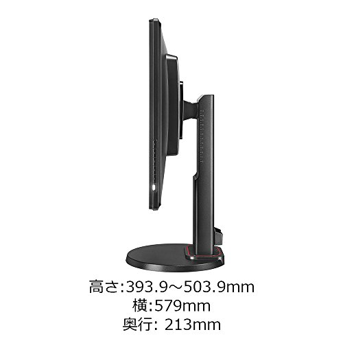 『BenQ ZOWIE ゲーミングモニター RL2460S (格闘ゲームに最適/24インチ/TN/1ms/フルHD/HDMI out端子付/Black eQualizer/スピーカー付/高さ調整)』の6枚目の画像