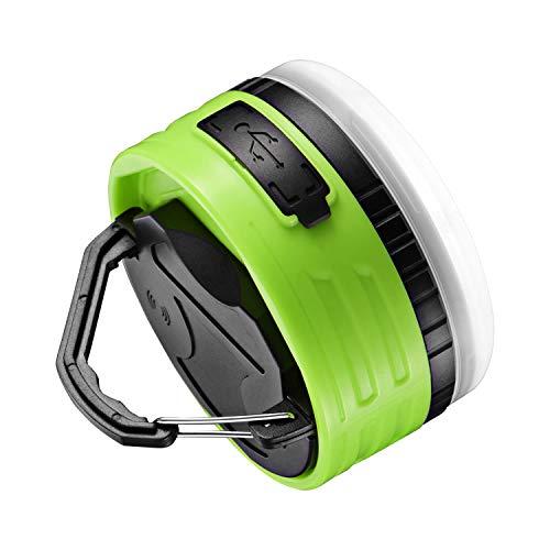 TOPKI LEDランタン IPX6防水防塵 250ルーメン USB充電式 モバイルバッテリー 6つ調光モード マグネット式 アルミ放熱 SOS機能付き 昼白色 赤色 アウトドア&防災用品