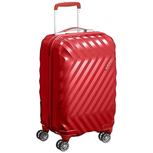 [アメリカンツーリスター] AmericanTourister スーツケース ZAVIS ゼイビス スピナー55 32L 2.4kg 機内持込可 I25*76001 76 (オータムレッド)