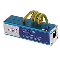 B Blesiya 電話 RJ11サージプロテクター 避雷器保護装置 電話RJ11信号避雷器