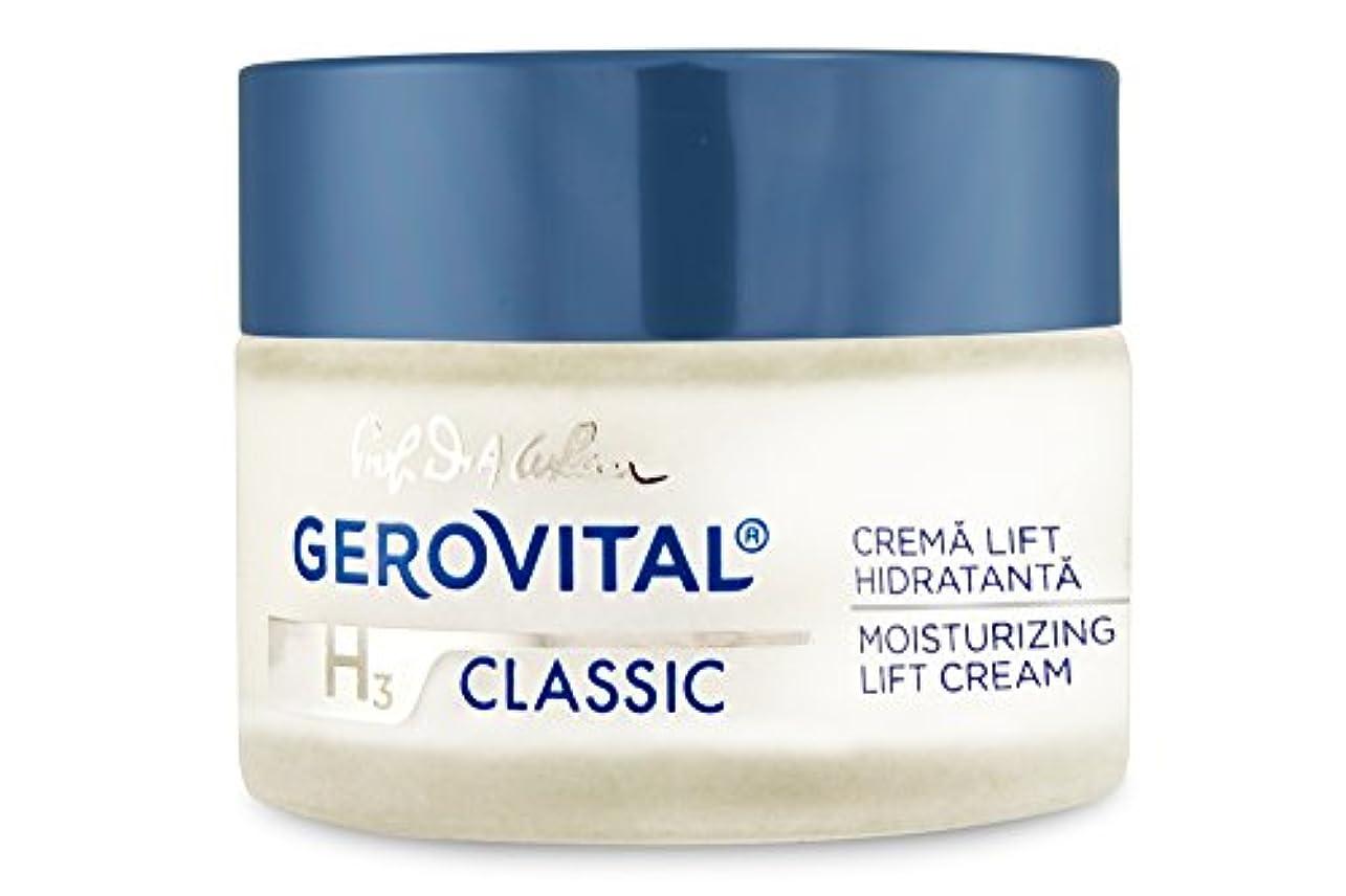 眠りシェア親密なジェロビタール H3 クラシック モイスチュアライジングリフト デイクリーム 50 ml / 1.69 fl.oz. [海外直送] [並行輸入品]