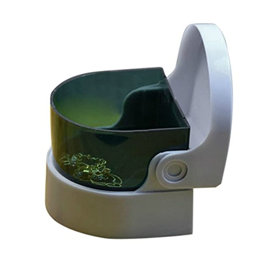 投げる分離する呼吸コードレスソニッククリーナー – Cleans、入れ歯Whitensと明るく、Retainers、Jewerly