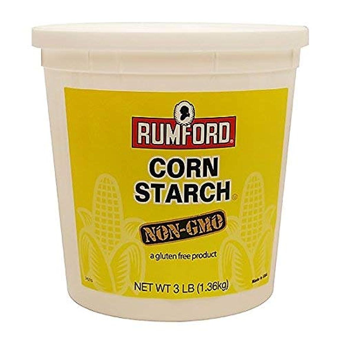 逃すエラー童謡Rumford Corn Starch - Non GMO - 3 Lbs. [並行輸入品]