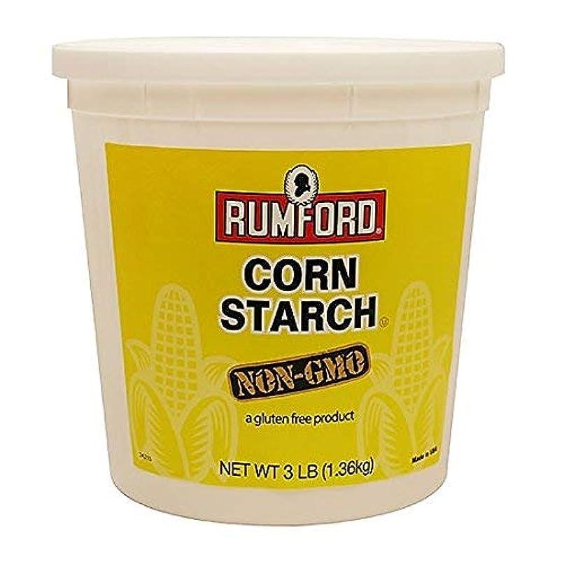 溶けたしがみつくギネスRumford Corn Starch - Non GMO - 3 Lbs. [並行輸入品]