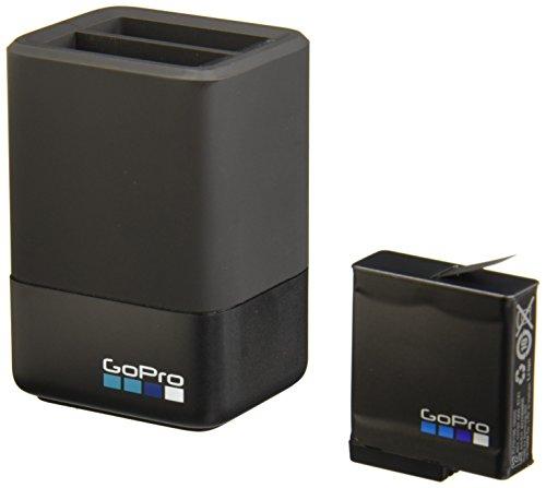『【国内正規品】 GoPro ウェアラブルカメラ用充電器 デュアル バッテリー チャージャー + バッテリー HERO5 Black HERO6 対応 AADBD-001-AS』の1枚目の画像