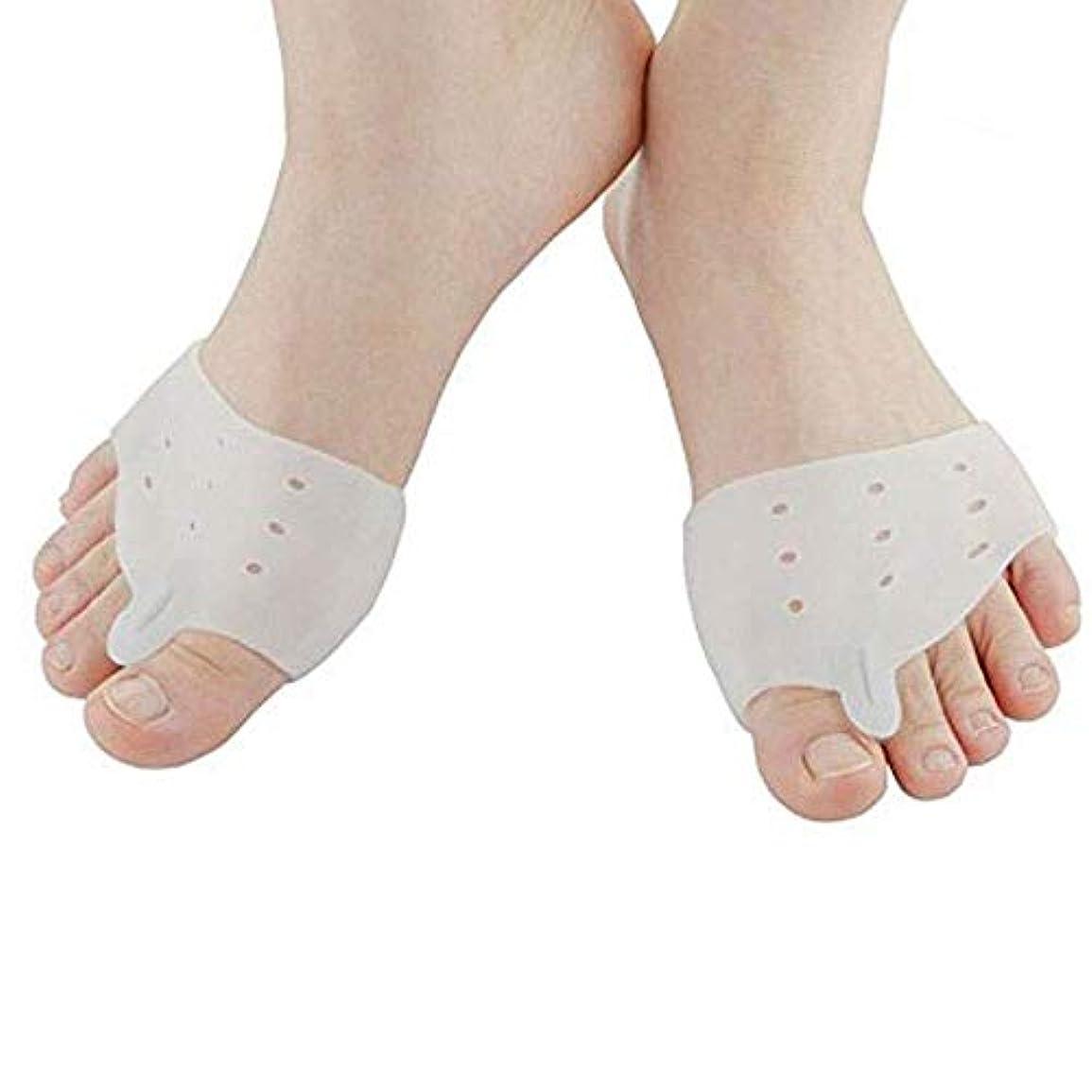 刺しますキリスト教固体足サポーター 足指パッド セパレーター 矯正 足指を広げる 外反母趾矯正 サポーター 足指矯正パッド 足指分離 足指 足用保護パッド 足の痛みを軽減 男女兼用