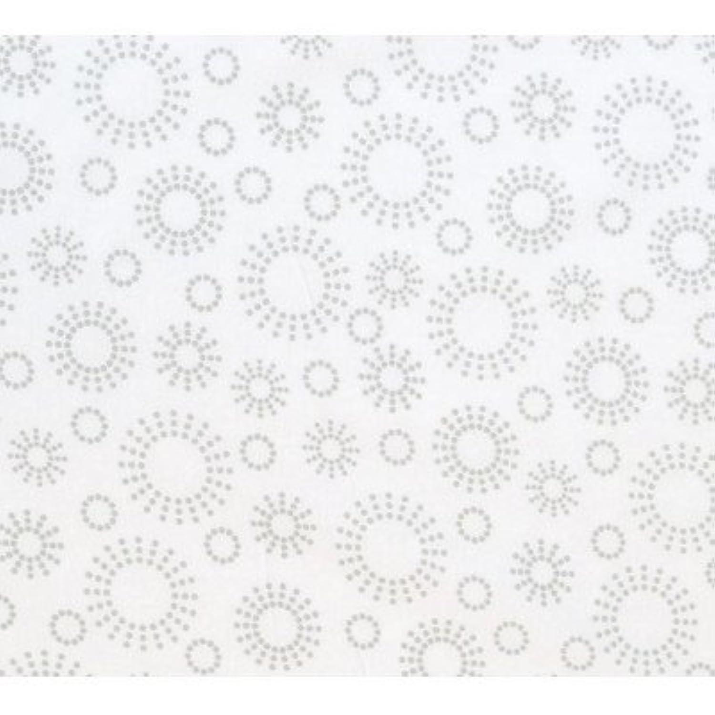 SheetWorld Fitted Sheet (Fits BabyBjorn Travel Crib Light) - Grey Dot Circles - Made In USA [並行輸入品]
