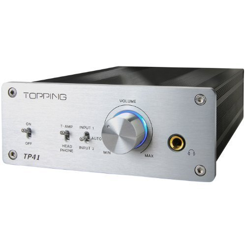 Topping TP41 TA2021 T-AMP + Headphone Mini Amplifier 25WPC by Topping [並行輸入品]