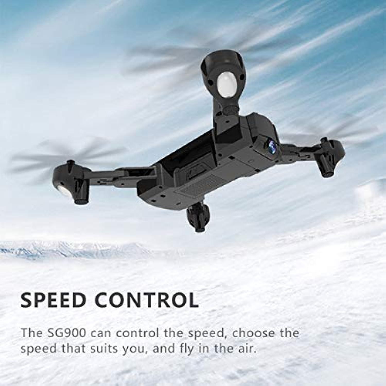 Saikogoods ドローン SG900 折り畳み式 2.4GHz 720P WIFI FPV GPS搭載 Optical 光流定位 カメラ付き