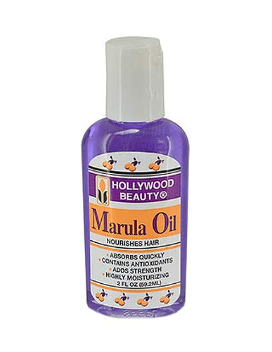 判定数信頼できるHollywood 美容マルラ油栄養を与え髪、2オンス