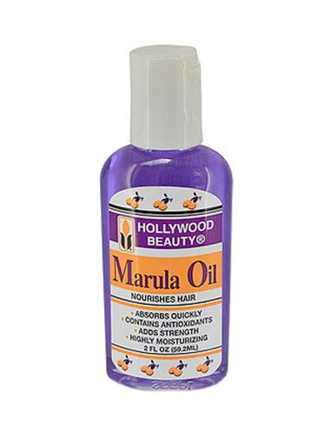 液体拡張のHollywood 美容マルラ油栄養を与え髪、2オンス