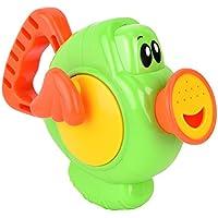 お風呂 おもちゃ ASDSH バストイ 子供 遊ぶ じょうろ水遊び 噴水 赤ちゃん 噴水おもちゃ じょうろ 水鉄砲 可愛い (グリーン)